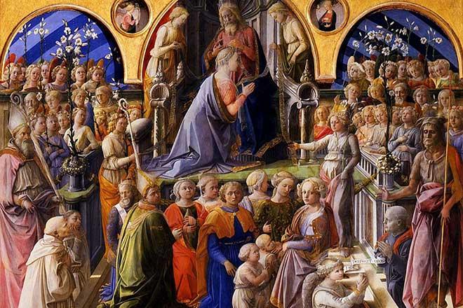 Incoronazione della Vergine - Lippi