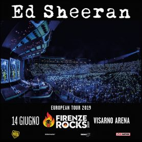 Ed Sheeran at Firenze Rocks 2019